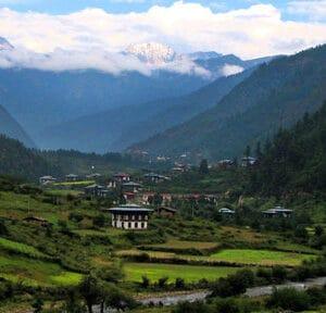Naturalezas de Bután sostenible